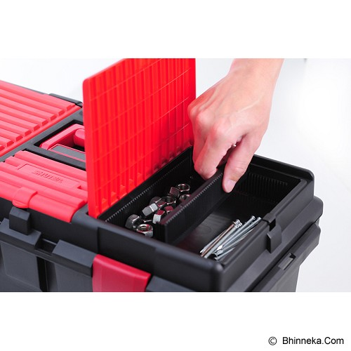 SHUTER Tools Storage Box [TB-800] - Red/Black - Box Perkakas